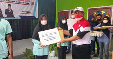Membanggakan, 4 Siswa MAN 1 Lamtim Dapat Penghargaan dari Kanwil Lampung