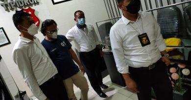 Sat Reskrim Polres Lampung Utara kembali menetapkan dan menahan Kepala Desa terkait kasus Korupsi